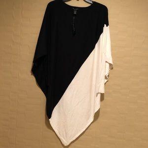 White House Black Market Tunic Sweater